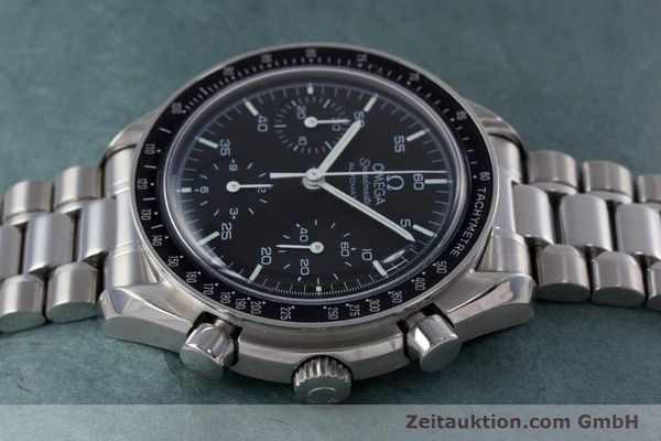 Used luxury watch Omega Speedmaster chronograph steel automatic Kal. 3220  | 153335 05