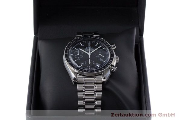 Used luxury watch Omega Speedmaster chronograph steel automatic Kal. 3220  | 153335 07