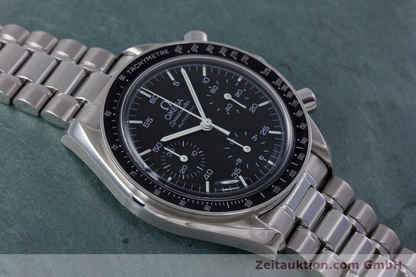 Used luxury watch Omega Speedmaster chronograph steel automatic Kal. 3220  | 153335 14