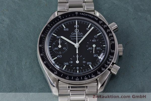 Used luxury watch Omega Speedmaster chronograph steel automatic Kal. 3220  | 153335 15