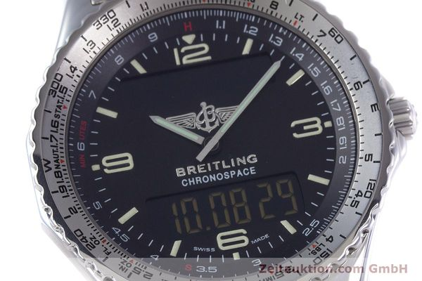 Used luxury watch Breitling Chronospace chronograph steel quartz Kal. Eta 988332 Ref. A560121  | 153352 02