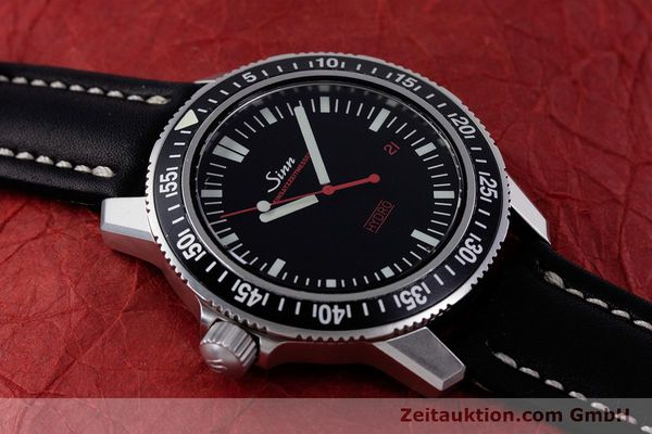 Used luxury watch Sinn EZM2 steel quartz Ref. 403.4246  | 153361 11