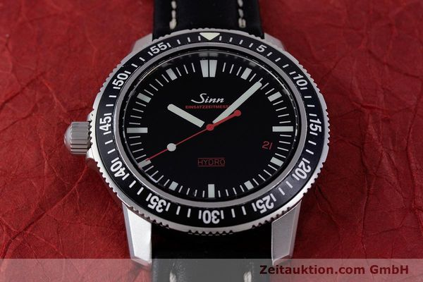 Used luxury watch Sinn EZM2 steel quartz Ref. 403.4246  | 153361 12
