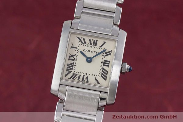 Used luxury watch Cartier Tank steel quartz Kal. 057 Ref. 2384  | 153370 04