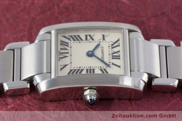 Used luxury watch Cartier Tank steel quartz Kal. 057 Ref. 2384  | 153370 05