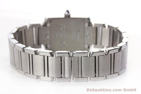 Used luxury watch Cartier Tank steel quartz Kal. 057 Ref. 2384  | 153370 10