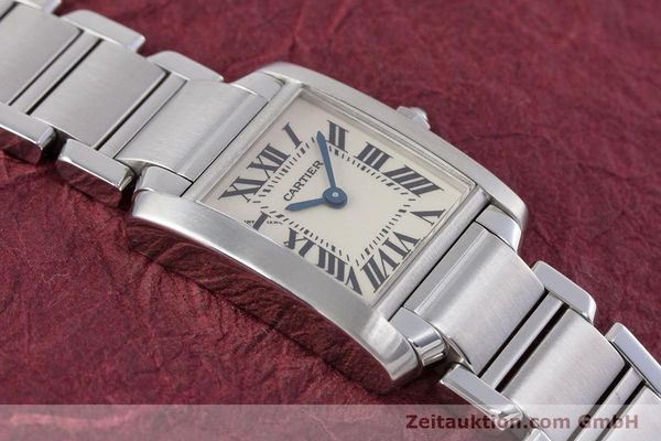 Used luxury watch Cartier Tank steel quartz Kal. 057 Ref. 2384  | 153370 13