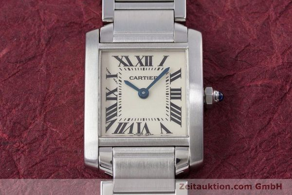 Used luxury watch Cartier Tank steel quartz Kal. 057 Ref. 2384  | 153370 14