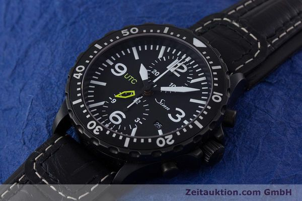 Used luxury watch Sinn 757 S UTC chronograph steel automatic Kal. ETA 7750 Ref. 757.1490  | 153374 01