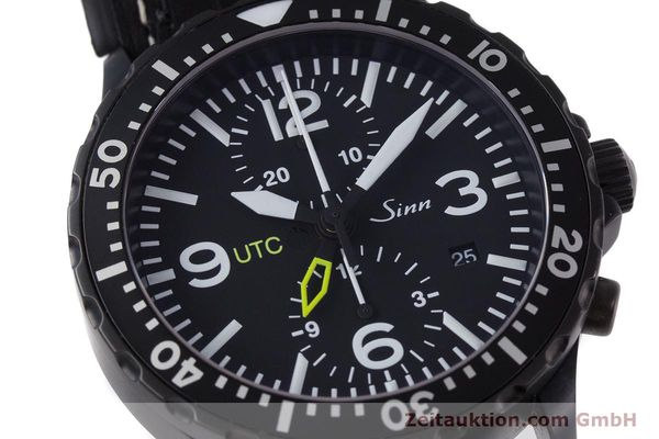 Used luxury watch Sinn 757 S UTC chronograph steel automatic Kal. ETA 7750 Ref. 757.1490  | 153374 02