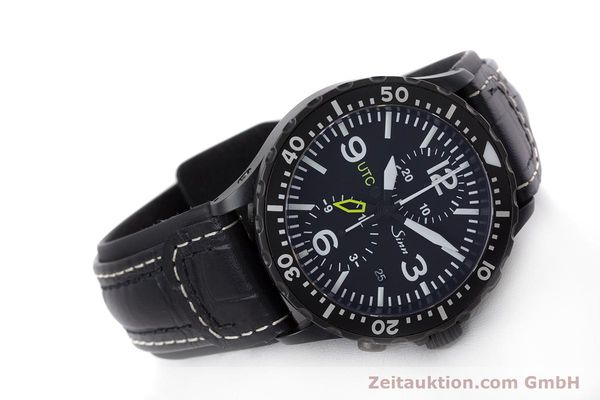 Used luxury watch Sinn 757 S UTC chronograph steel automatic Kal. ETA 7750 Ref. 757.1490  | 153374 03