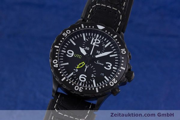 Used luxury watch Sinn 757 S UTC chronograph steel automatic Kal. ETA 7750 Ref. 757.1490  | 153374 04