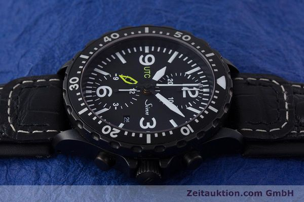 Used luxury watch Sinn 757 S UTC chronograph steel automatic Kal. ETA 7750 Ref. 757.1490  | 153374 05