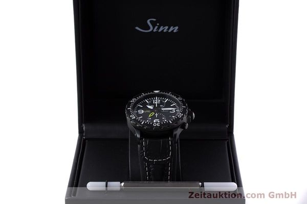 Used luxury watch Sinn 757 S UTC chronograph steel automatic Kal. ETA 7750 Ref. 757.1490  | 153374 07