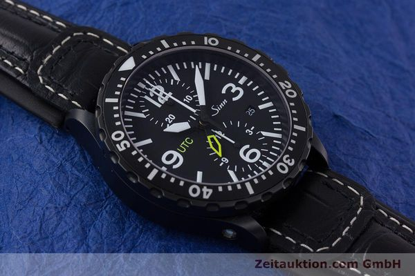 Used luxury watch Sinn 757 S UTC chronograph steel automatic Kal. ETA 7750 Ref. 757.1490  | 153374 16