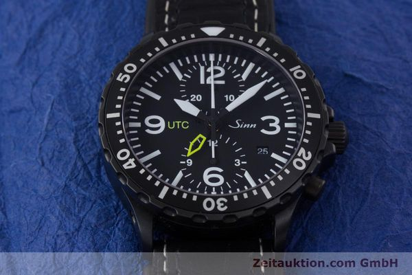 Used luxury watch Sinn 757 S UTC chronograph steel automatic Kal. ETA 7750 Ref. 757.1490  | 153374 17