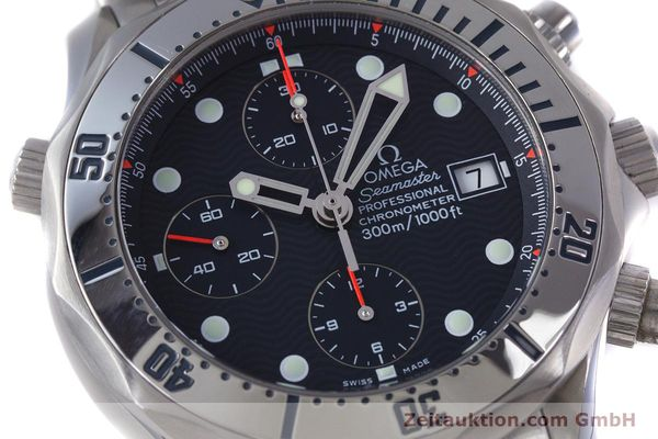 Used luxury watch Omega Seamaster chronograph steel automatic Kal. 1154 Ref. 25988000  | 153376 02