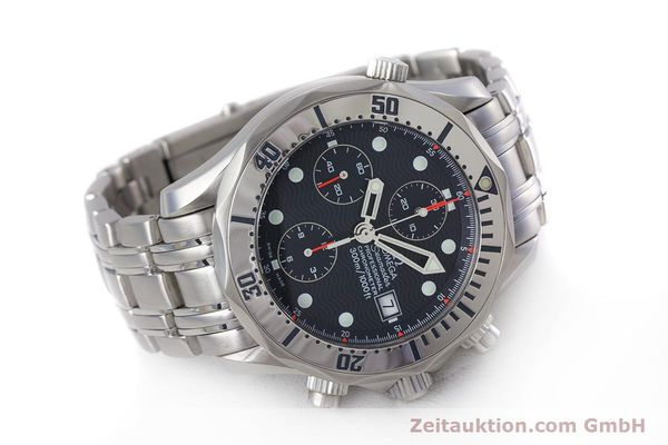 Used luxury watch Omega Seamaster chronograph steel automatic Kal. 1154 Ref. 25988000  | 153376 03