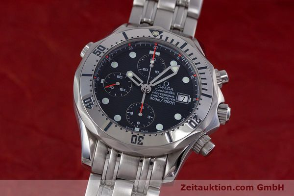 Used luxury watch Omega Seamaster chronograph steel automatic Kal. 1154 Ref. 25988000  | 153376 04
