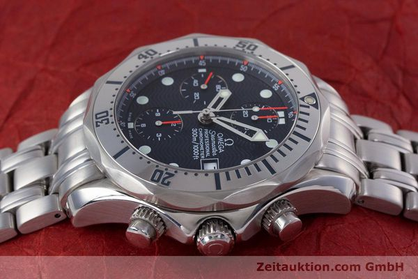 Used luxury watch Omega Seamaster chronograph steel automatic Kal. 1154 Ref. 25988000  | 153376 05