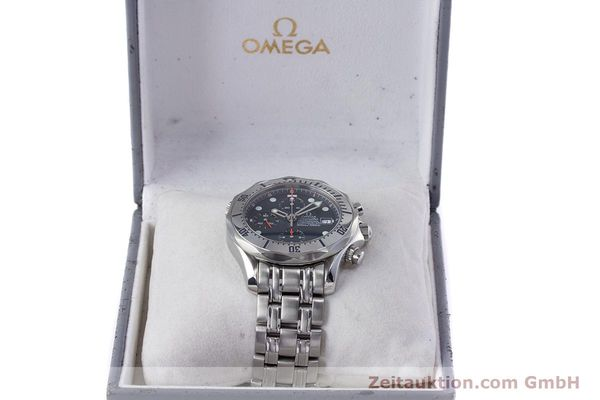Used luxury watch Omega Seamaster chronograph steel automatic Kal. 1154 Ref. 25988000  | 153376 07