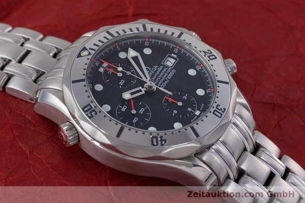 Used luxury watch Omega Seamaster chronograph steel automatic Kal. 1154 Ref. 25988000  | 153376 18