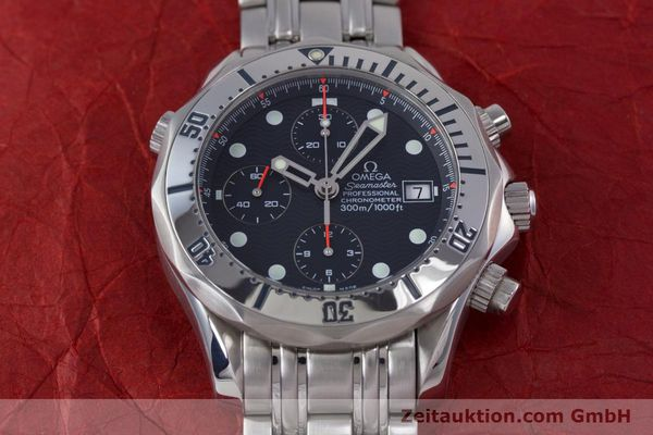 Used luxury watch Omega Seamaster chronograph steel automatic Kal. 1154 Ref. 25988000  | 153376 19