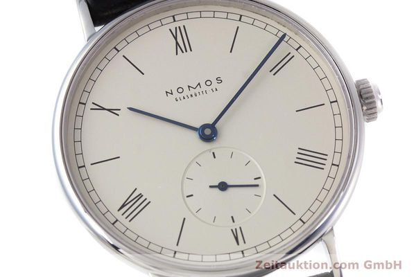 Used luxury watch Nomos Ludwig steel manual winding Kal. ETA 7001  | 153378 02