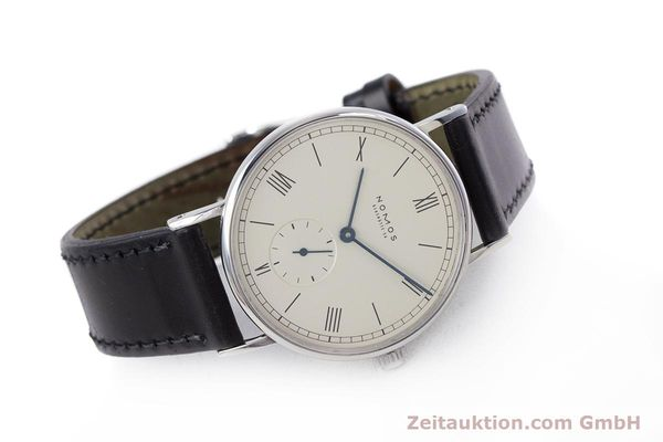 Used luxury watch Nomos Ludwig steel manual winding Kal. ETA 7001  | 153378 03