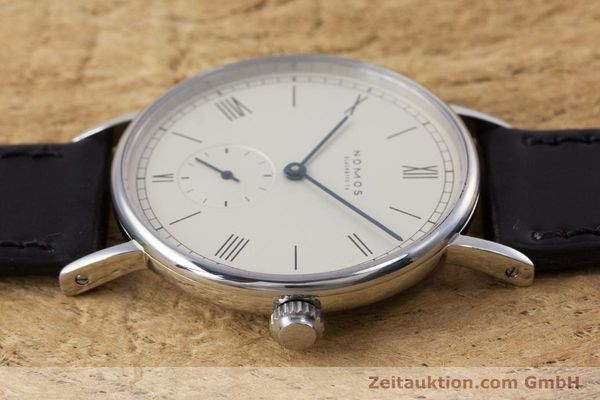 Used luxury watch Nomos Ludwig steel manual winding Kal. ETA 7001  | 153378 05