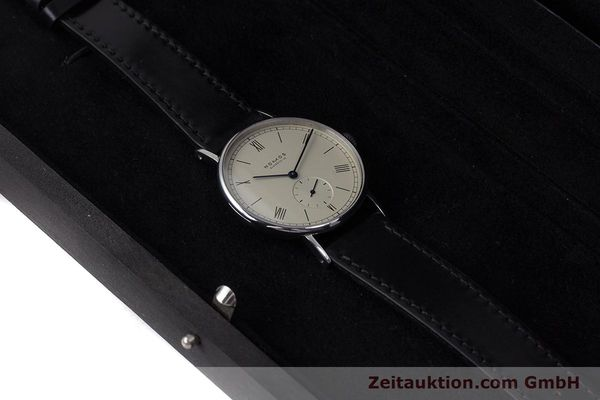 Used luxury watch Nomos Ludwig steel manual winding Kal. ETA 7001  | 153378 07