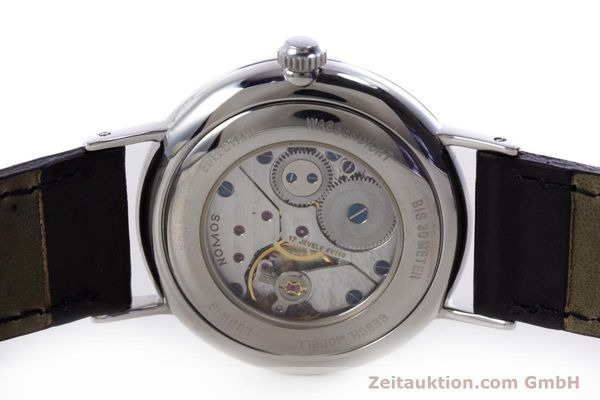 Used luxury watch Nomos Ludwig steel manual winding Kal. ETA 7001  | 153378 09