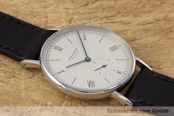 Used luxury watch Nomos Ludwig steel manual winding Kal. ETA 7001  | 153378 14