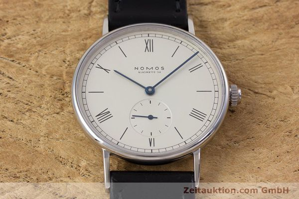 Used luxury watch Nomos Ludwig steel manual winding Kal. ETA 7001  | 153378 15
