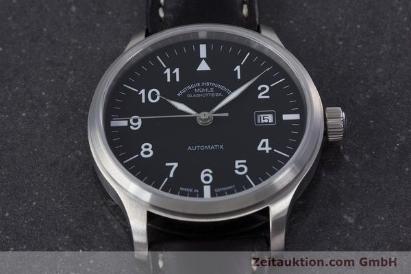 Used luxury watch Mühle Terrasport  steel automatic Kal. Sellita SW200-1 Ref. M1-37-60  | 153381 16
