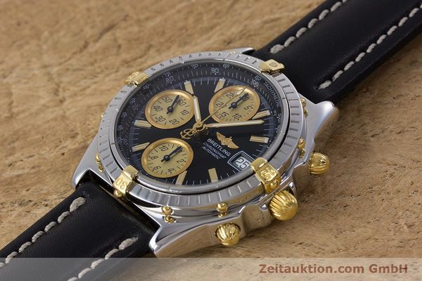 Used luxury watch Breitling Chronomat chronograph steel / gold automatic Kal. B13 ETA 7750 Ref. B13048  | 153383 01