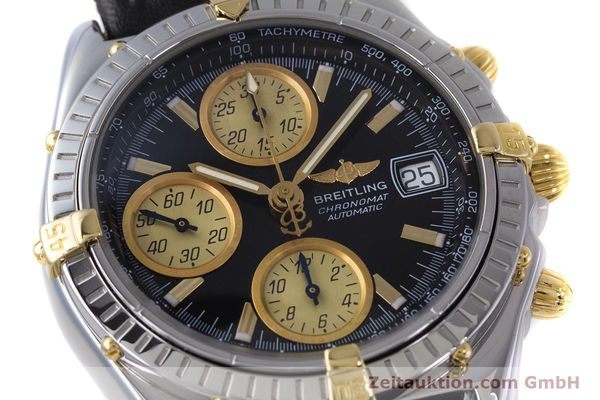 Used luxury watch Breitling Chronomat chronograph steel / gold automatic Kal. B13 ETA 7750 Ref. B13048  | 153383 02