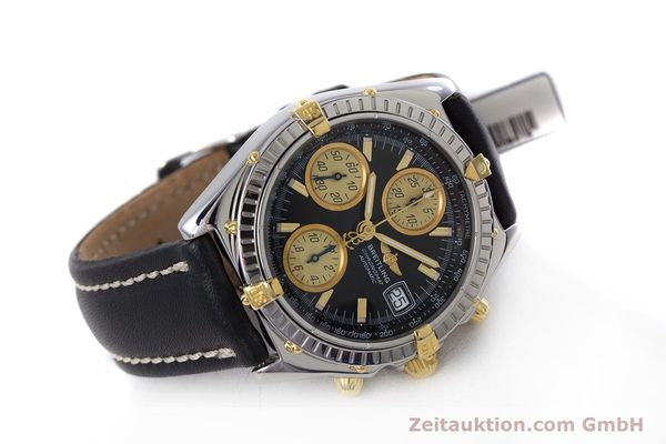 Used luxury watch Breitling Chronomat chronograph steel / gold automatic Kal. B13 ETA 7750 Ref. B13048  | 153383 03