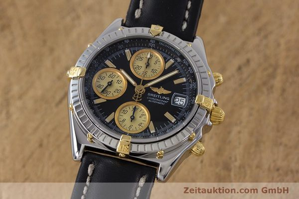 Used luxury watch Breitling Chronomat chronograph steel / gold automatic Kal. B13 ETA 7750 Ref. B13048  | 153383 04