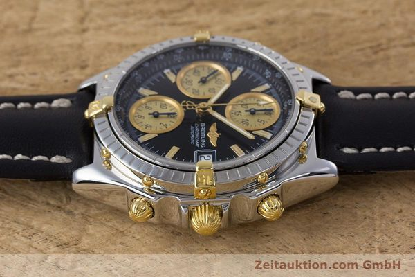 Used luxury watch Breitling Chronomat chronograph steel / gold automatic Kal. B13 ETA 7750 Ref. B13048  | 153383 05
