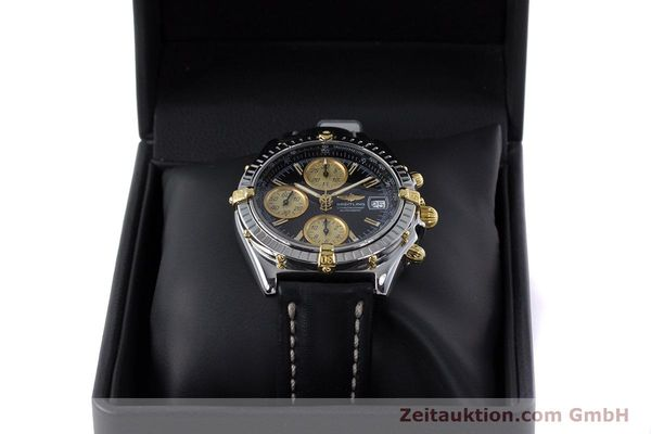 Used luxury watch Breitling Chronomat chronograph steel / gold automatic Kal. B13 ETA 7750 Ref. B13048  | 153383 07