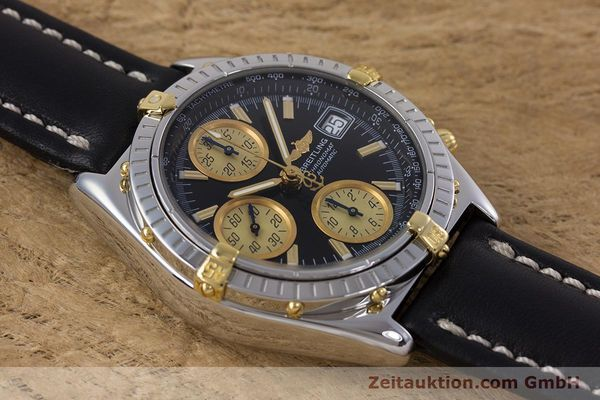 Used luxury watch Breitling Chronomat chronograph steel / gold automatic Kal. B13 ETA 7750 Ref. B13048  | 153383 13