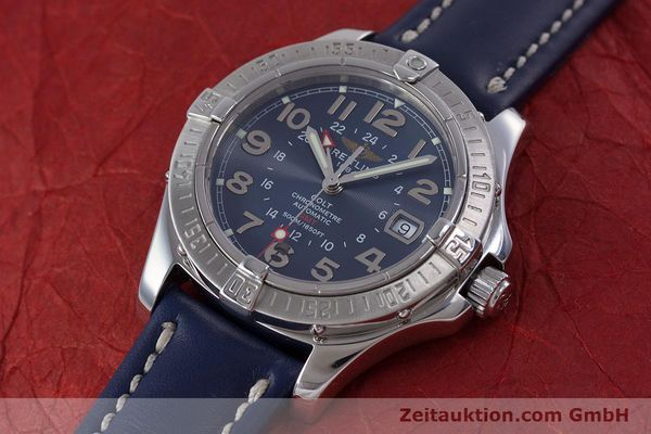 Used luxury watch Breitling Colt GMT steel automatic Kal. B32 ETA 2893-2 Ref. A32350  | 153384 01