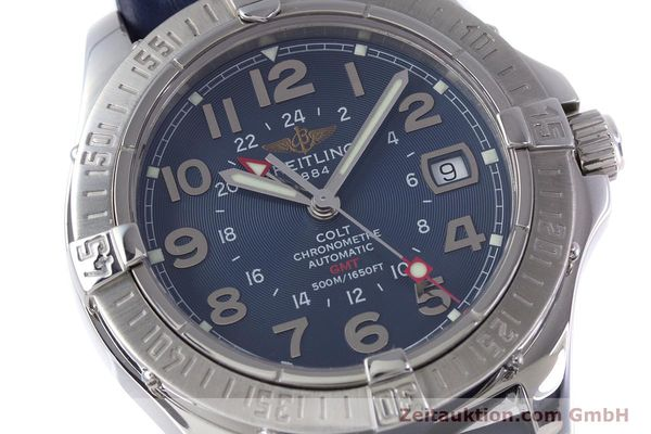 Used luxury watch Breitling Colt GMT steel automatic Kal. B32 ETA 2893-2 Ref. A32350  | 153384 02
