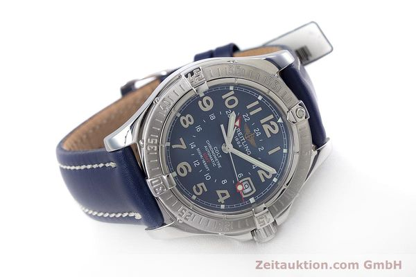 Used luxury watch Breitling Colt GMT steel automatic Kal. B32 ETA 2893-2 Ref. A32350  | 153384 03