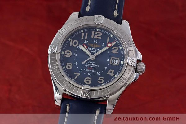 Used luxury watch Breitling Colt GMT steel automatic Kal. B32 ETA 2893-2 Ref. A32350  | 153384 04