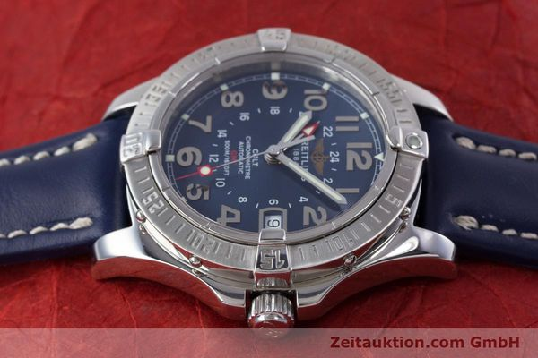 Used luxury watch Breitling Colt GMT steel automatic Kal. B32 ETA 2893-2 Ref. A32350  | 153384 05