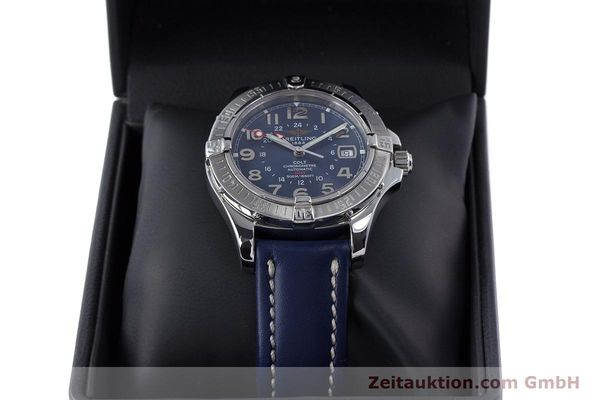 Used luxury watch Breitling Colt GMT steel automatic Kal. B32 ETA 2893-2 Ref. A32350  | 153384 07
