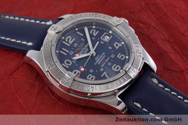 Used luxury watch Breitling Colt GMT steel automatic Kal. B32 ETA 2893-2 Ref. A32350  | 153384 13
