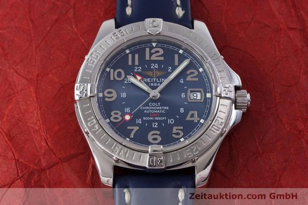 Used luxury watch Breitling Colt GMT steel automatic Kal. B32 ETA 2893-2 Ref. A32350  | 153384 14